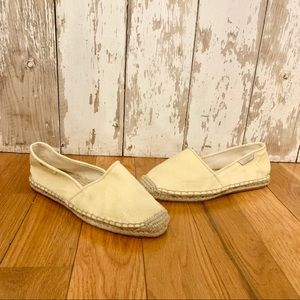 NEW Lilly Pulitzer Gold Lia Espadrille Flats